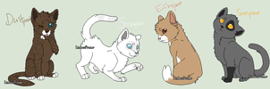 My Warrior cat apprentices-part 1 by TwilightLuv10