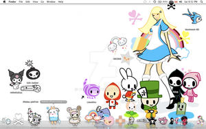 My Tokidoki Desktop by bobbipins