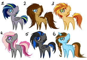 Pony Adopt #3 [CLOSED] by Hilis