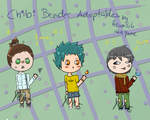 Adoptables- Chibi Benders by Heumilch