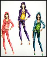 Fashion Design 2: Color Swatch by Mew-Sumomo