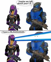How Garrus actually was injured by spaceMAXmarine