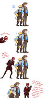 :TF2: that Spy is a douche by BlackMayo