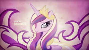 Princess Mi Amore Cadenza (Wallpaper) by Prollgurke