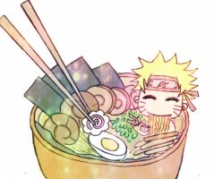 Naruto Ramen by Rainikloud