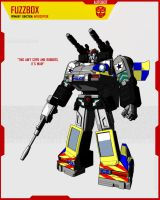 AUTOBOT FUZZBOX by F-for-feasant-design