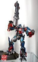 Optimus Prime Dual Model Kit by alienspawn