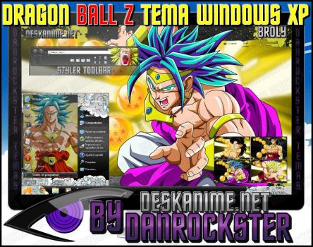 Broly Theme Windows XP by Danrockster