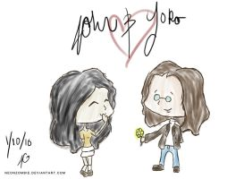 John and Yoko: Oh Yoko by Lady-Tuuli