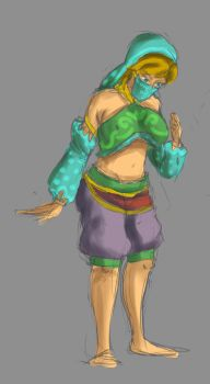 Gerudo clothes link tg by undeadpenguin37