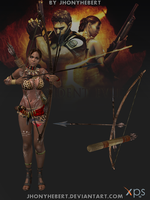 Bow and Arrow's Sheva by JhonyHebert