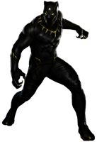 Black Panther - Transparent Background! by Camo-Flauge