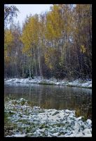 Winter came before fall left by Amalgamax