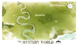 The Mystery World by weirdink