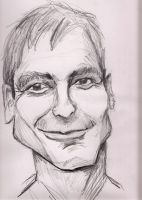 George Clooney sketch by j0epep