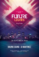 Future Lights Flyer by styleWish