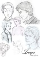 VD: Damon sketches by Segomichoco
