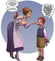 Mary Poppins: Spoonful of Sugar by digitalgil