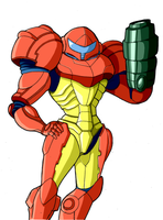 Captain N: Samus by Retro-CCN