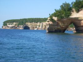 Pictured Rocks I by RoxiRider