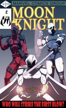 Moon Knight Cover by Juggertha