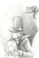Alice and Hatter by enziru