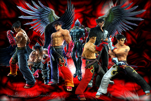 Tekken Jin Wallpaper by Steveburnside227
