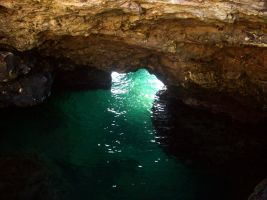 under-water cave-2 by bluster358