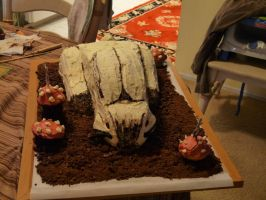 Bunny Cake (front view) by Foxy4fs18