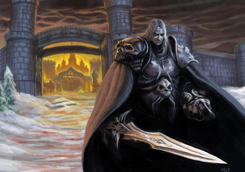 Frostmourne: Stormwind Burns by TheChaoticKnight