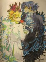 Pandora Hearts: Oz and Gil by Firespirit7