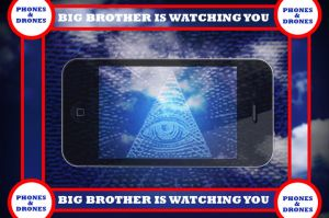 BIG BROTHER IS A DRONE by HalHefnerART