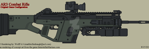 AR3 Combat Rifle OGC by Wolff60