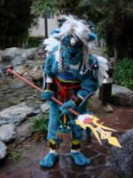 Final Fantasy X: Kimahri Ronso by dragonheart