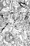 TF MTMTE 46 cover lineart by markerguru