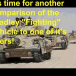 Dare to Compare --- M3A3 Bradley CFV versus BRM-1! by BlacktailFA