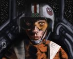 Luke as RED 5 by philippeL