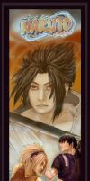Naruto Poster-Bookmark Thingie by slvrflame19