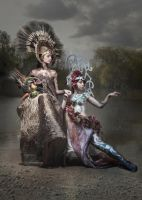 Demeter and Persephone by dsa157