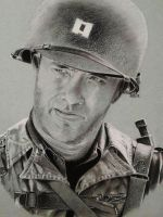 Tom Hanks(Saving private Ryan) by AndreasTripsa