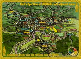 Jokmal Tourist Map by wingsofwrath