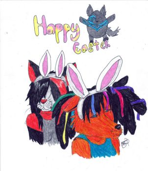 HAPPY EASTER by dark-kat-16