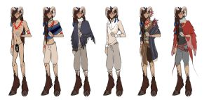 Cyr Outfits by Jaizure