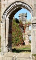 Lowther Castle 6 by GothicBohemianStock