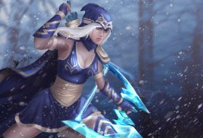LoL Ashe by FeiHai
