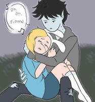 Oh Oh Fionna Marshall Lee by eternallost