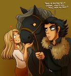 Look at my horse, my horse is amazing... by StressedJenny