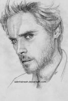 Sketch of Jared Leto of 30 Seconds to Mars by Sabriiistrash
