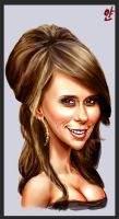 Jeniffer Love Hewitt by ByunCaricature