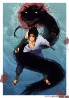 SASUKE: Unleashed Vengeance by haruningster